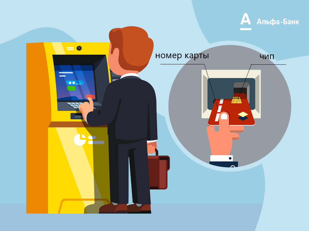 Как правильно вставлять карту в банкомат Сбербанка
